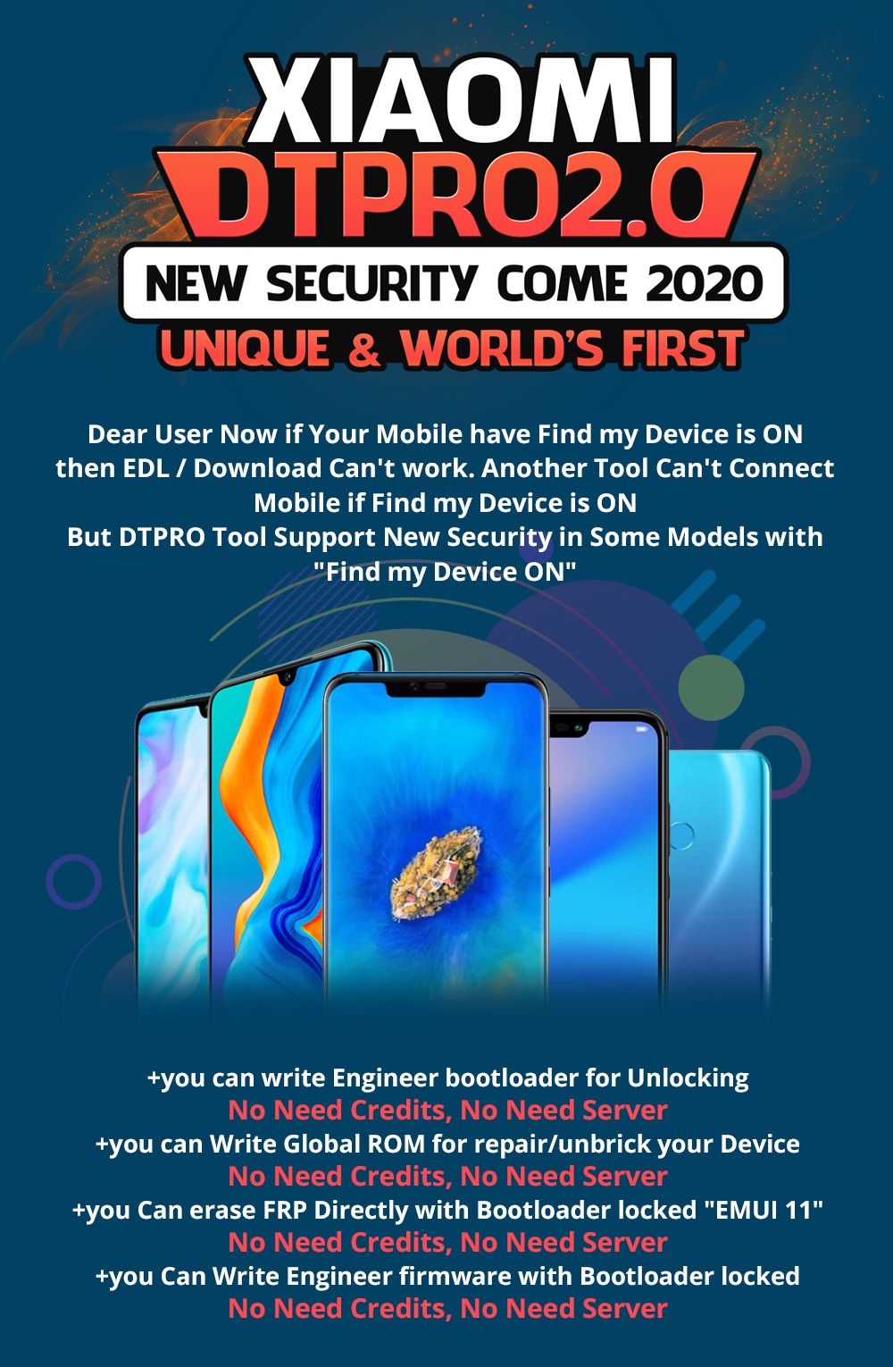 "Xiaomi New Security 2020 Come ""Devices with Find My Devices ON"" is Supported!! World First..."