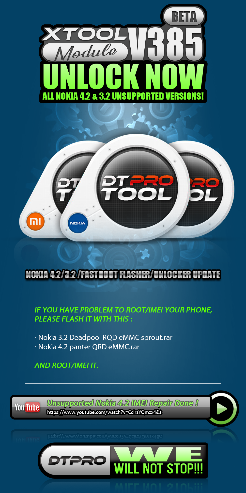 Xtool Software Version 2.0.0.0.385 Nokia DownGrade & Xiaomi repair Security